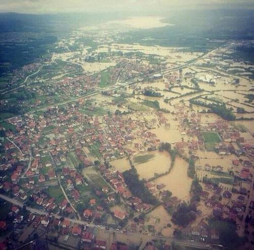 Bosna Hersek Su Felaketi