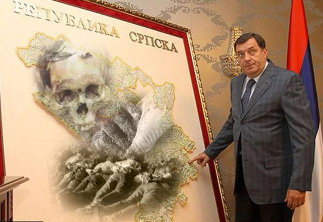 Image result for karikature dragan covic i milorad dodik