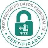 Bossa Certificado NYCE Proteccion Datos