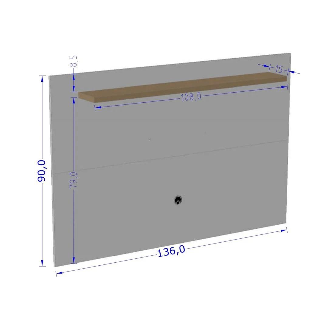 panel para tv kenzo 4