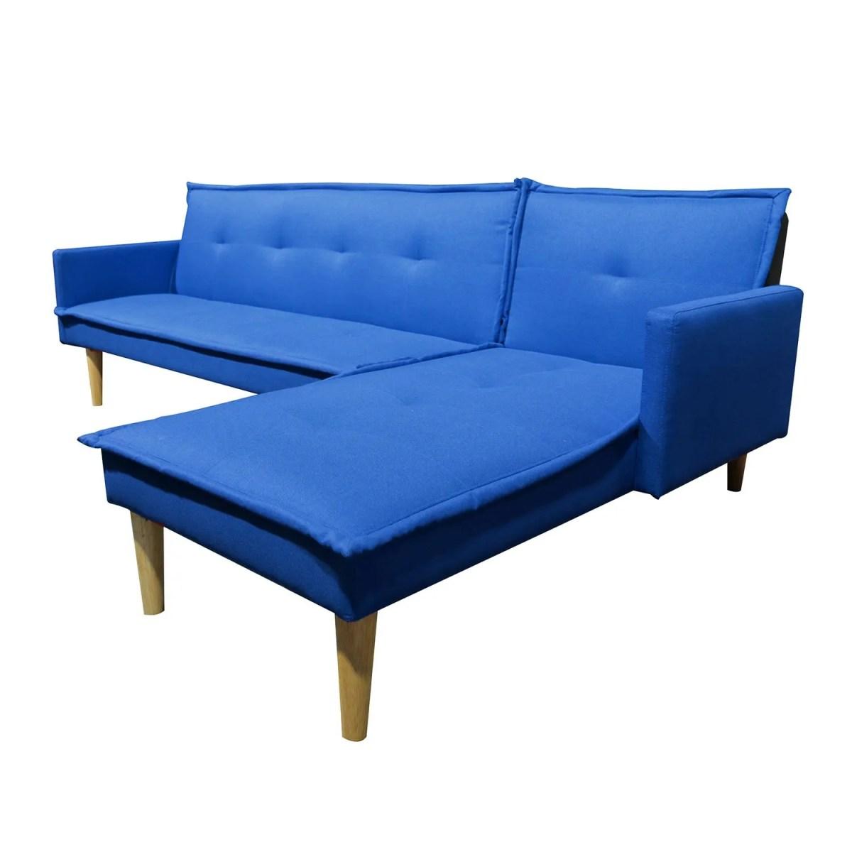 sala esquinada sofá cama independencia azul 1