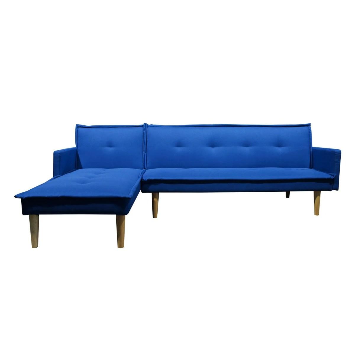 sala esquinada sofá cama independencia azul 3