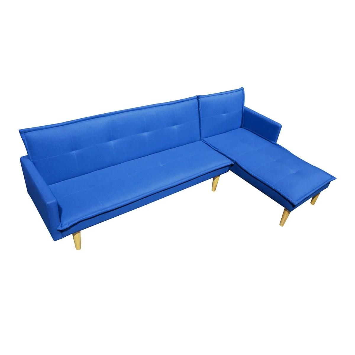 sala esquinada sofá cama independencia azul 5