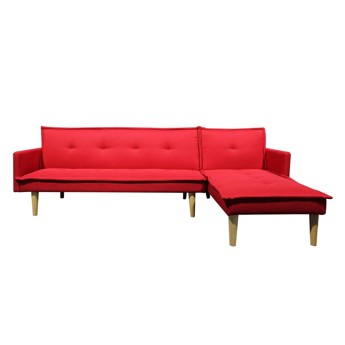 sala esquinada sofá cama independencia rojo 4