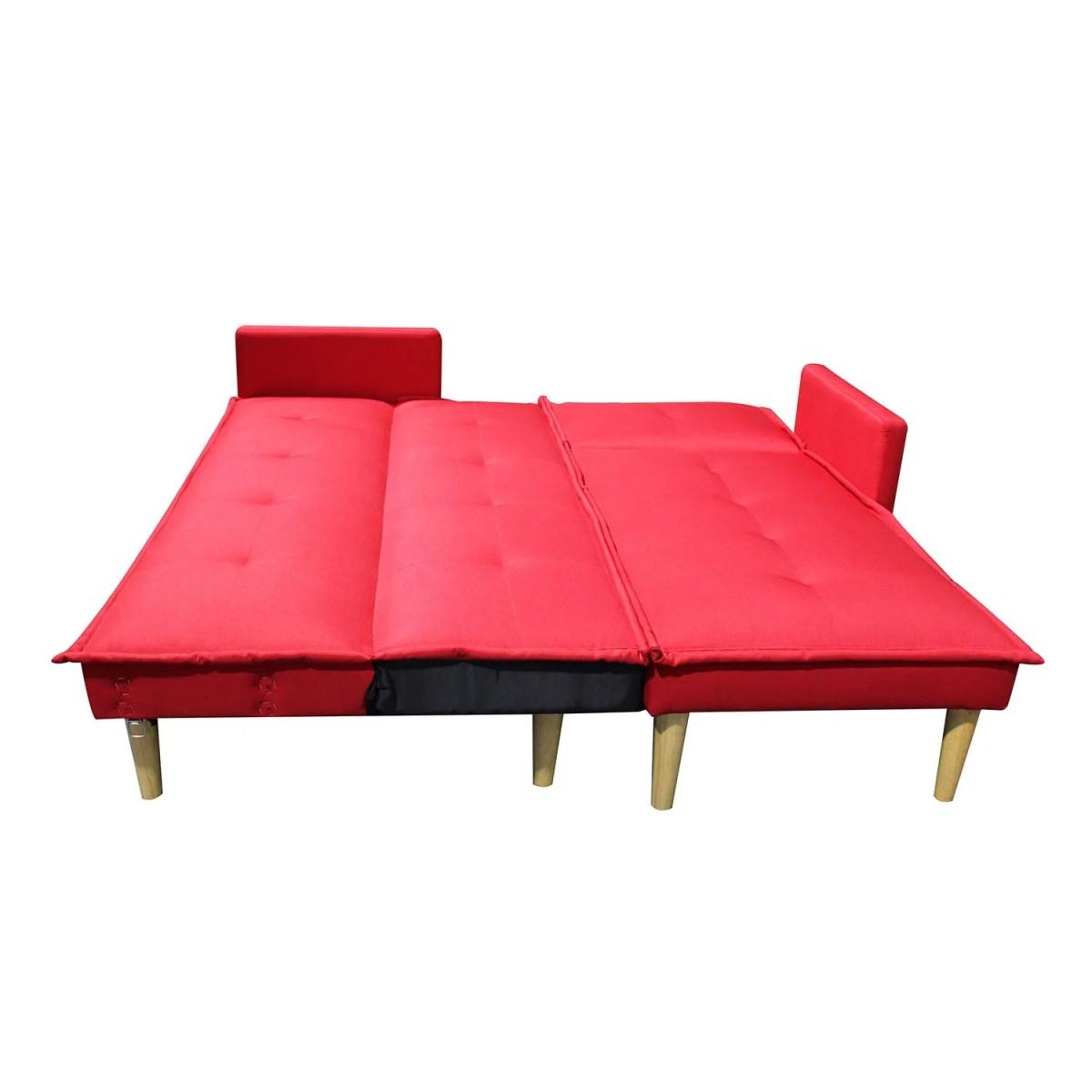 sala esquinada sofá cama independencia rojo 7