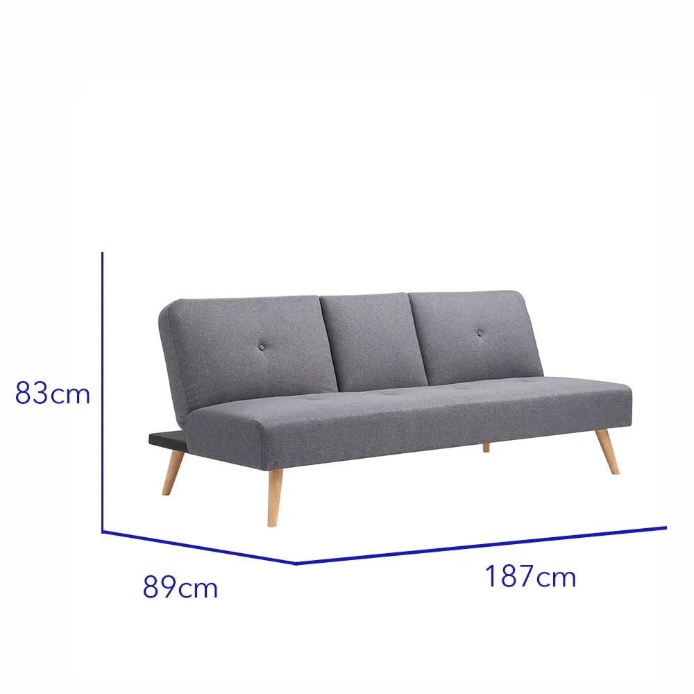 sofacama reclinable individual portavasos bossa hobbs 10