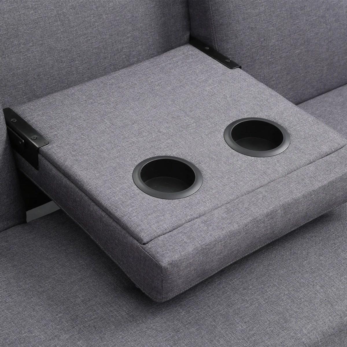 sofacama reclinable individual portavasos bossa hobbs 5