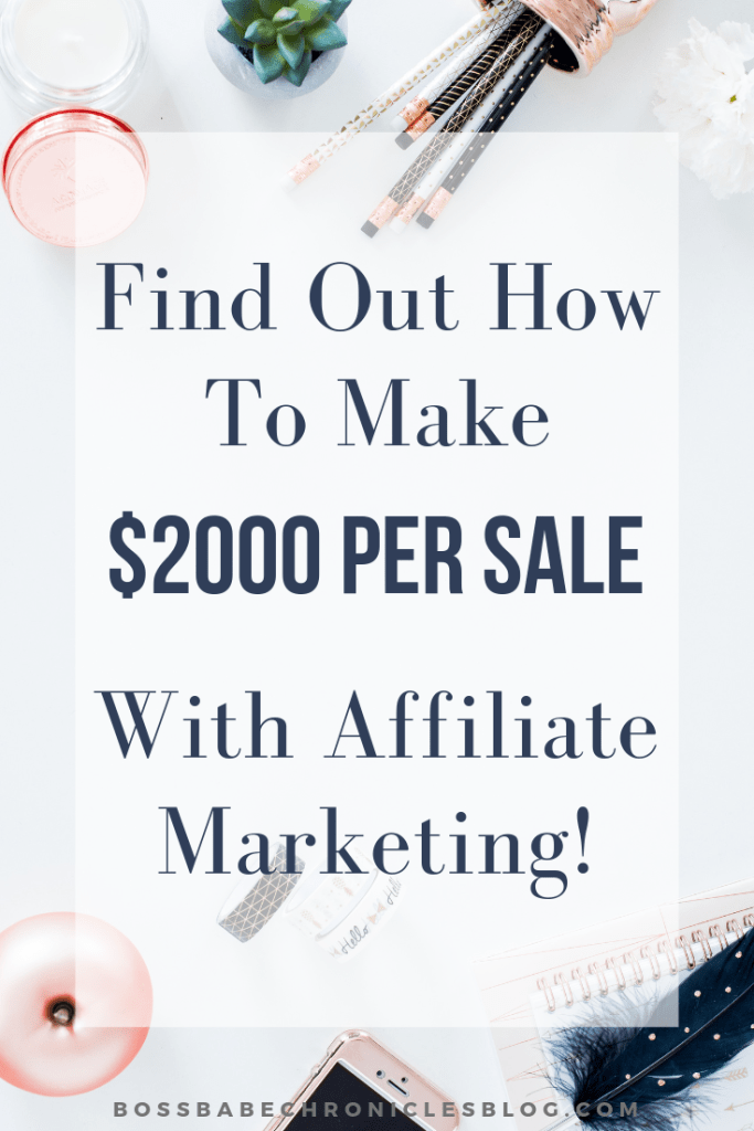 8 Best Affiliate Programs- Up To $2000 Per Sale!