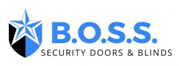 Boss security doors and blinds logo2