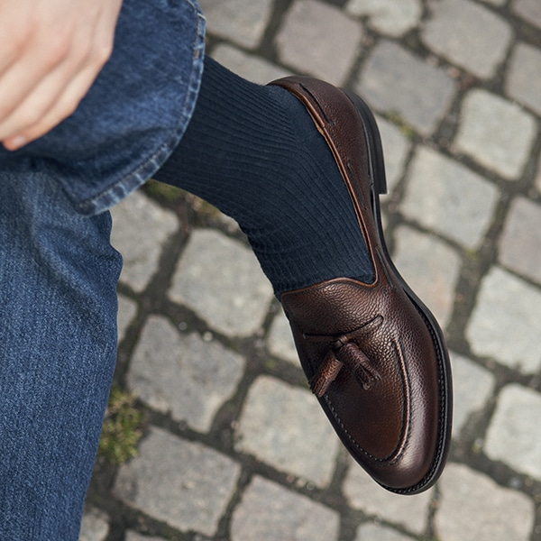 Loafers in cocktail clothes