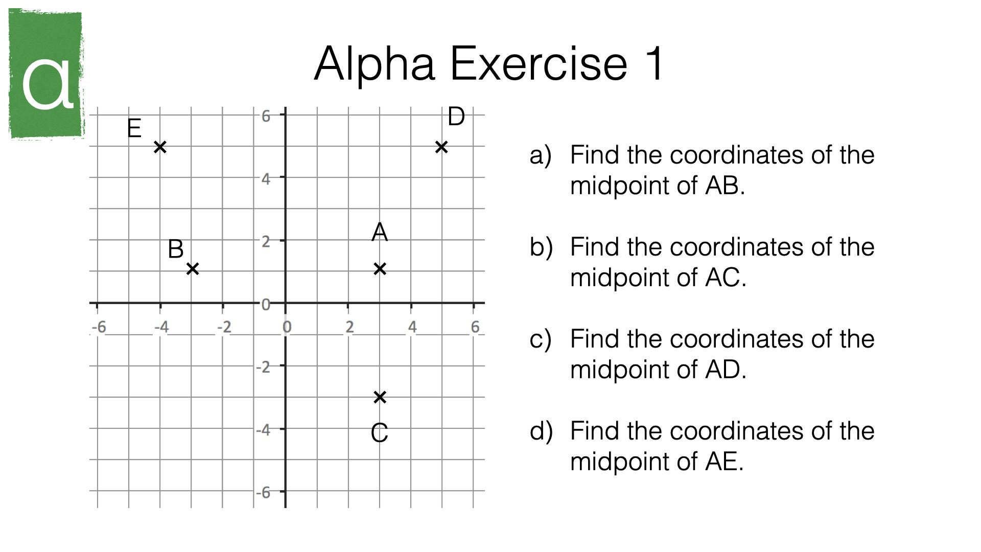 G11a Solve Geometrical Problems On Coordinate Axes Bossmaths