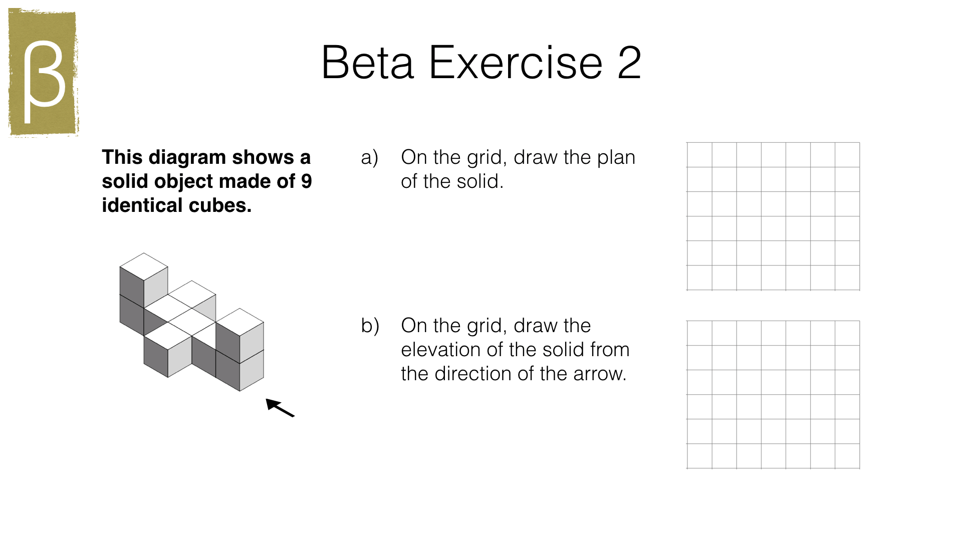 G13a Plans And Elevations Of 3d Shapes Bossmaths
