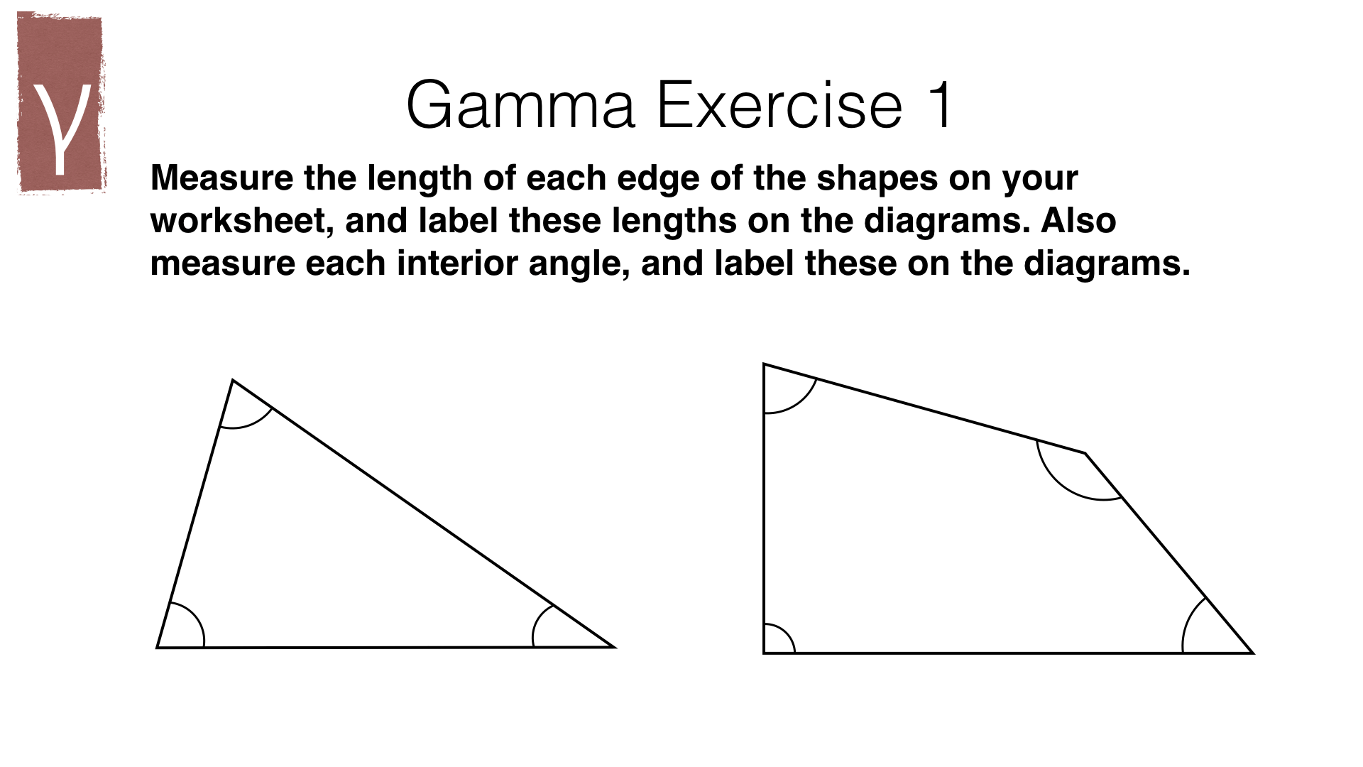 G15a Measuring Line Segments And Angles In Geometric Figures Bossmaths