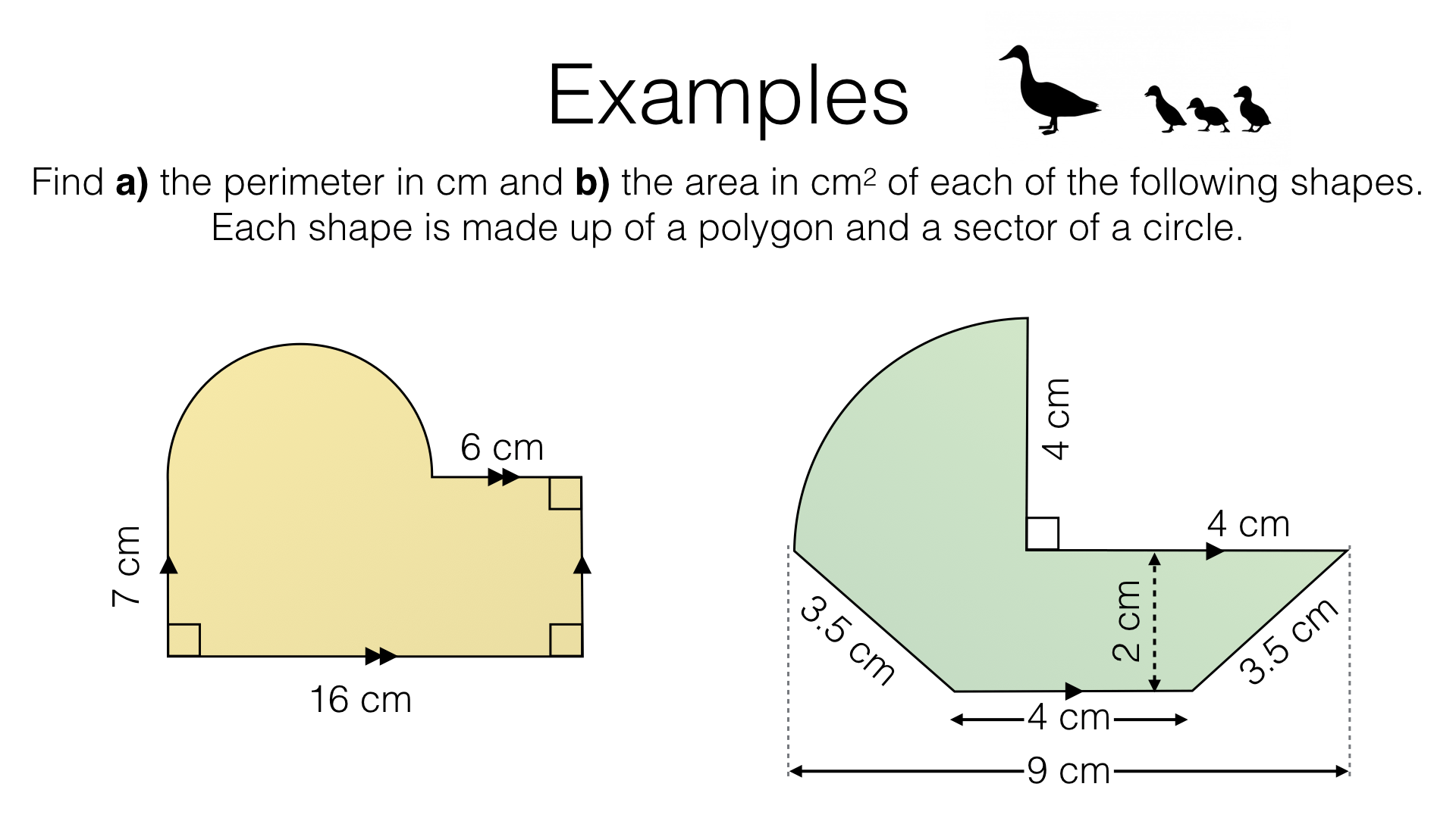 G17e Perimeter And Area Of Composite Shapes Made Up Of