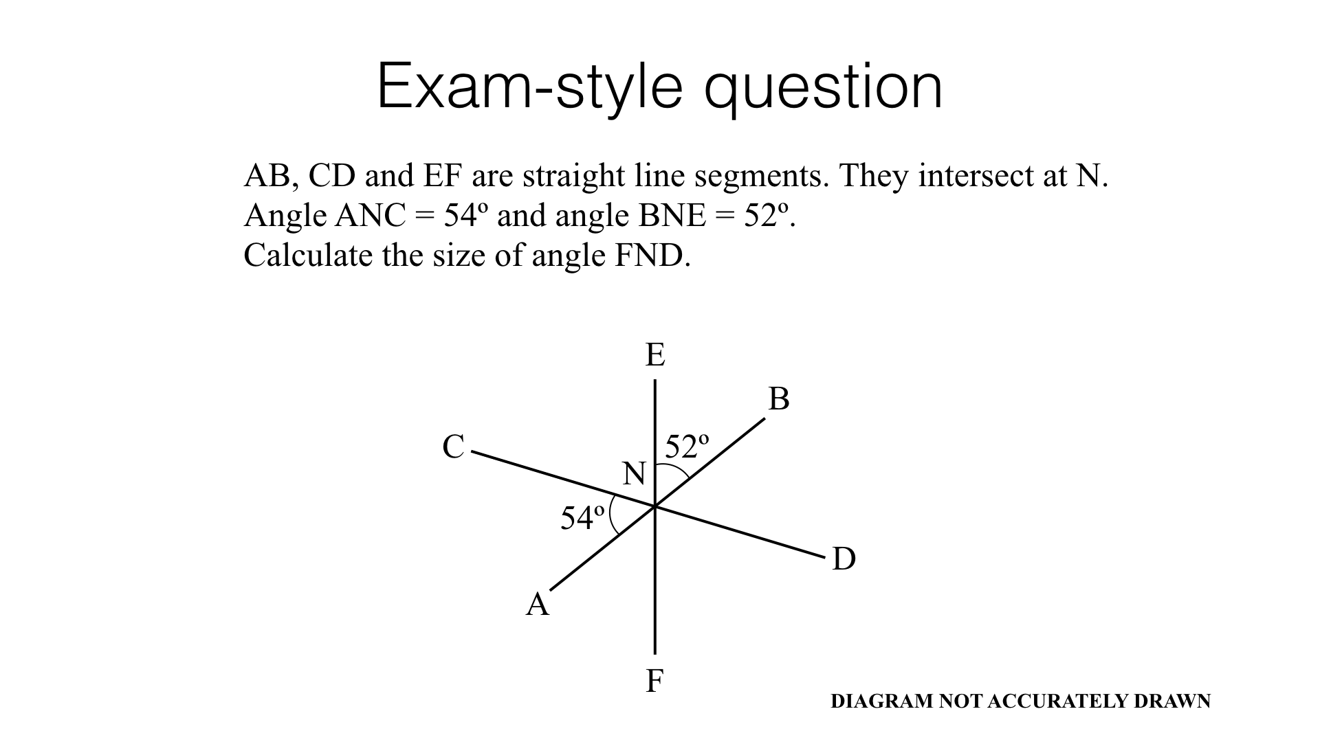 G3a Angles At A Point Angles At A Point On A Straight Line Vertically Opposite Angles