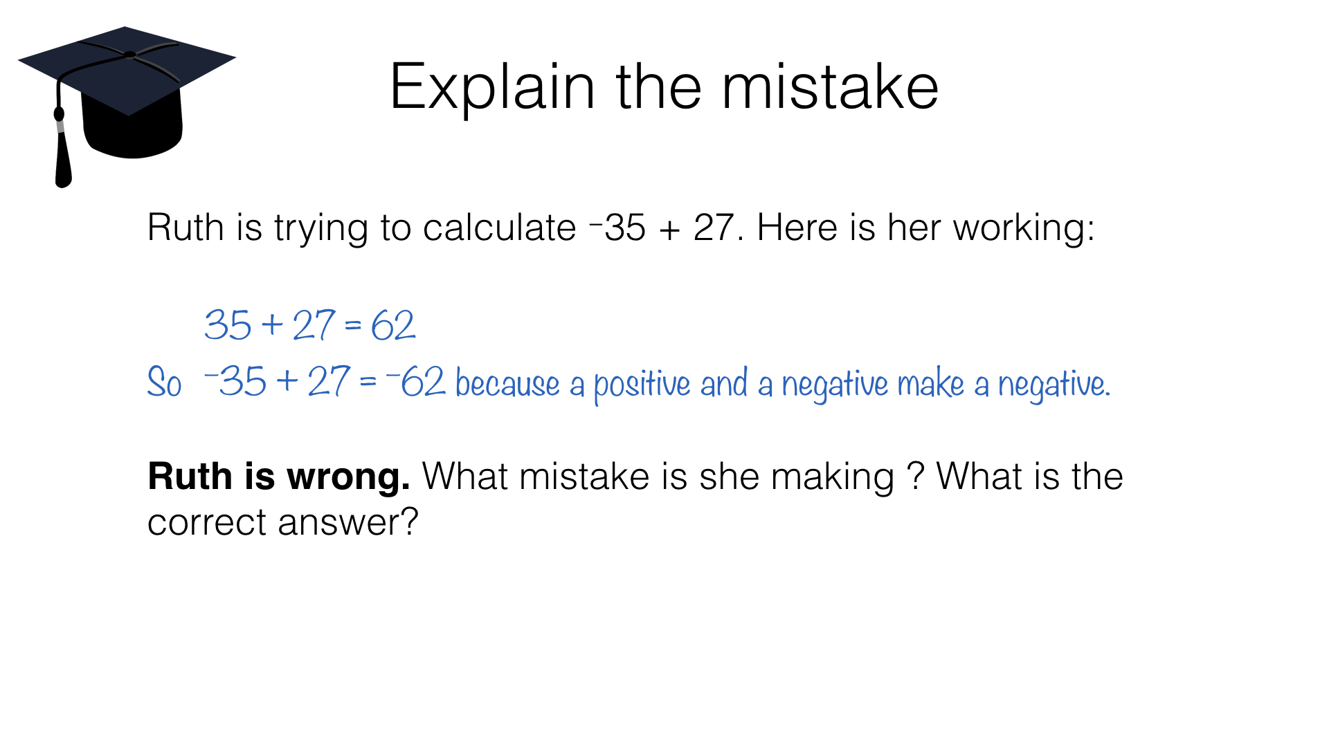 N2e Applying The Four Operations To Negative Numbers