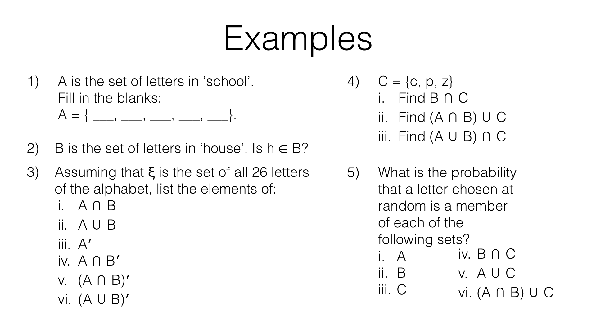 P6a Enumerating Sets And Combinations Of Sets