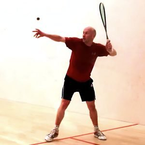 Chris Walker Squash Serve England