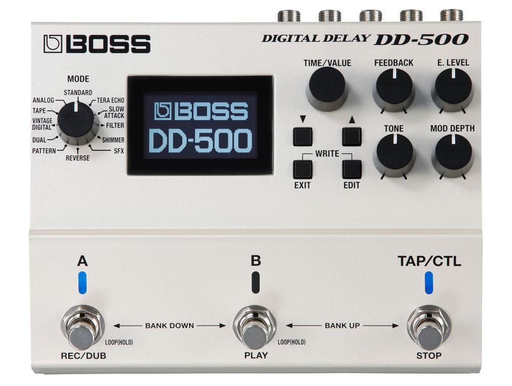 DD-500 Digital Delay Front Panel
