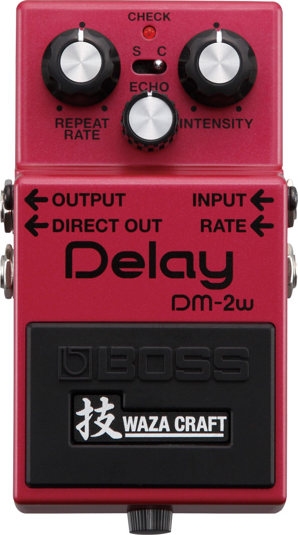 Waza Craft DM-2W Delay Top Panel