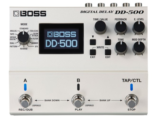 History of BOSS Delay: DD-500