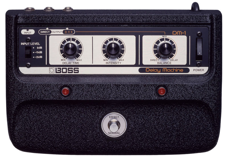 History of BOSS Delay: DM-1