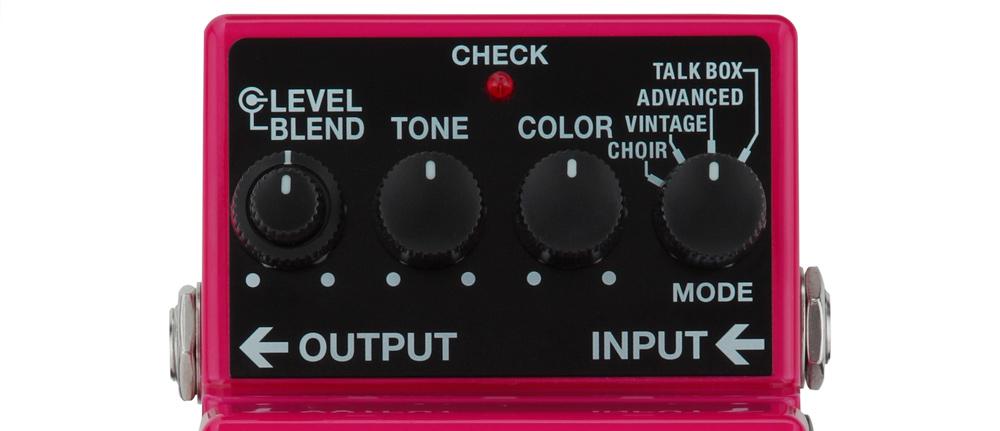 VO-1 Vocoder Panel