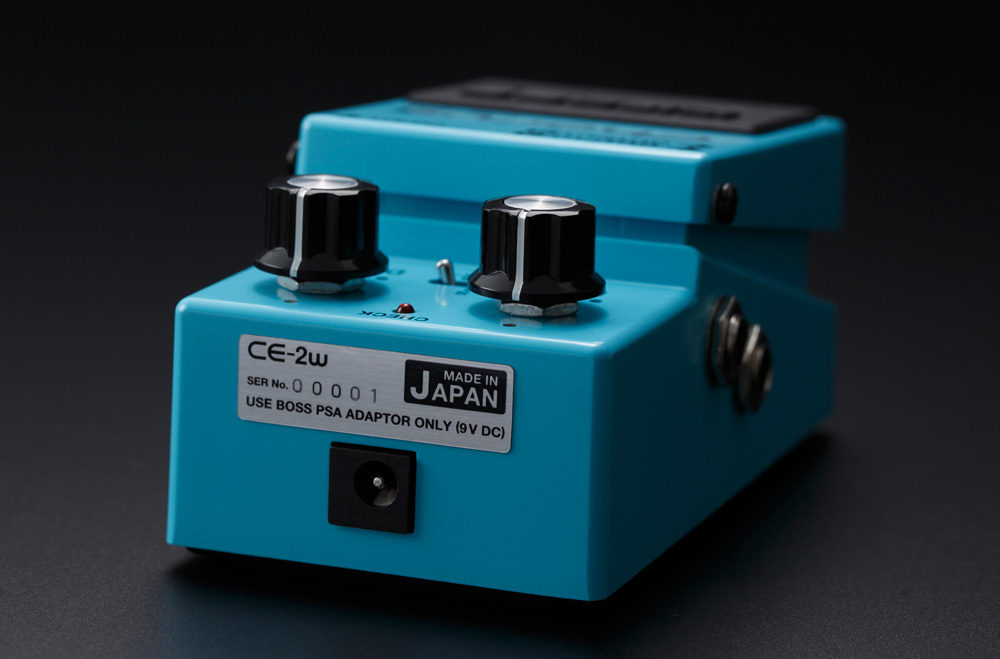 The Waza Craft CE-2W Chorus is made in Japan, just like the original CE-1 and CE-2.