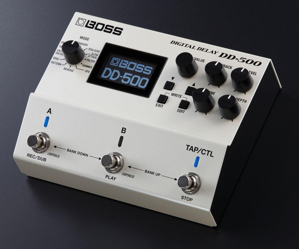 BOSS DD-500 Digital Delay.
