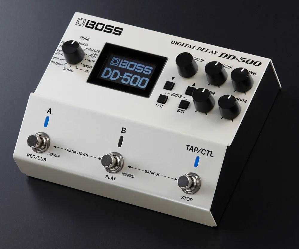 BOSS DD-500 Digital Delay.