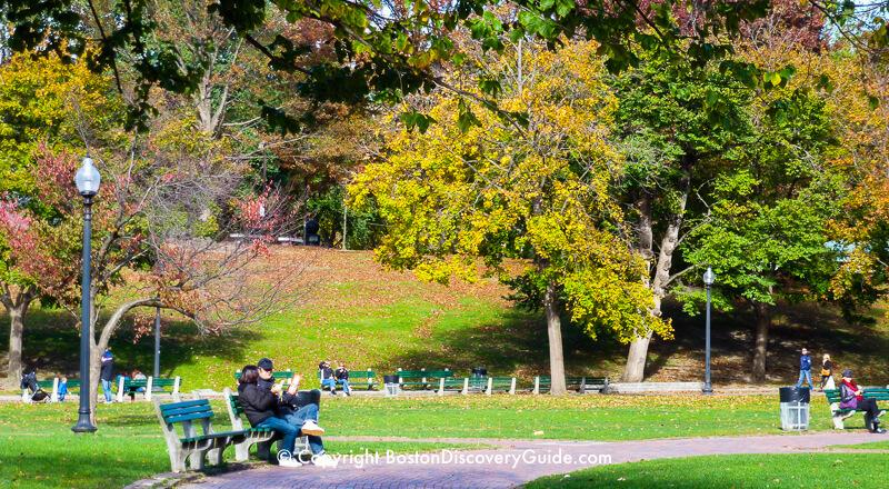 Boston Common Freedom Trail Site Boston Discovery Guide