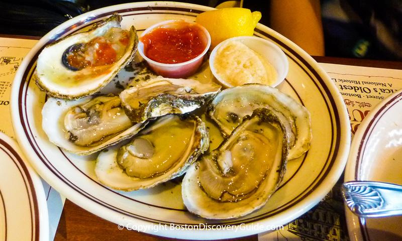 Union Oyster House Historic Boston Seafood Restaurant
