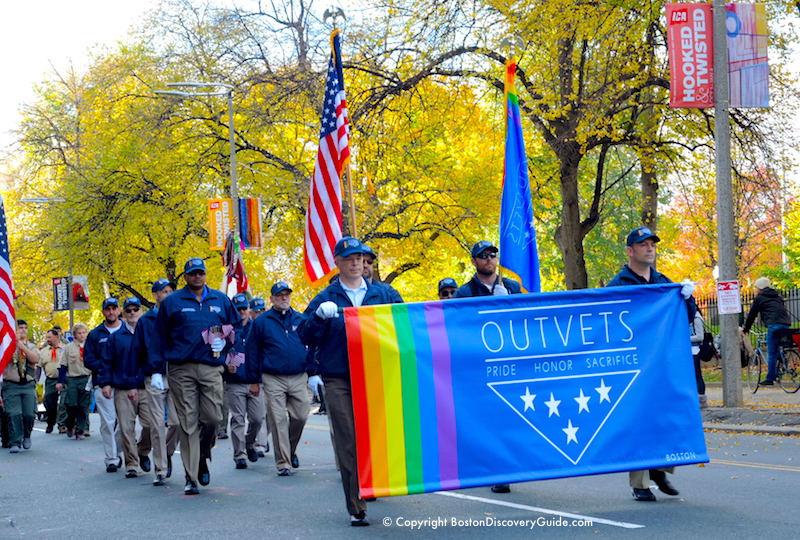 Boston Veterans Day Events 2017 Parade Veterans