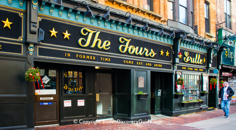 Closest Restaurants Td Garden
