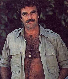 1970s: a good time for hairy chests