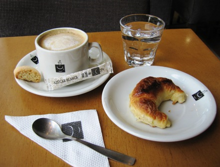 coffee and croissant-it built a nation