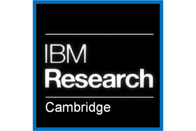 Thank you IBM Research Cambridge!