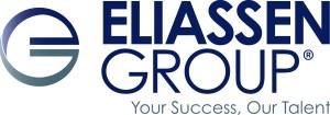 """Eliassen Group Logo - """"Your Success, Our Talent"""""""