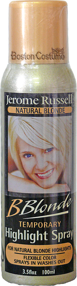 Jerome Russell BBlonde Temporary Hair Spray In Natural