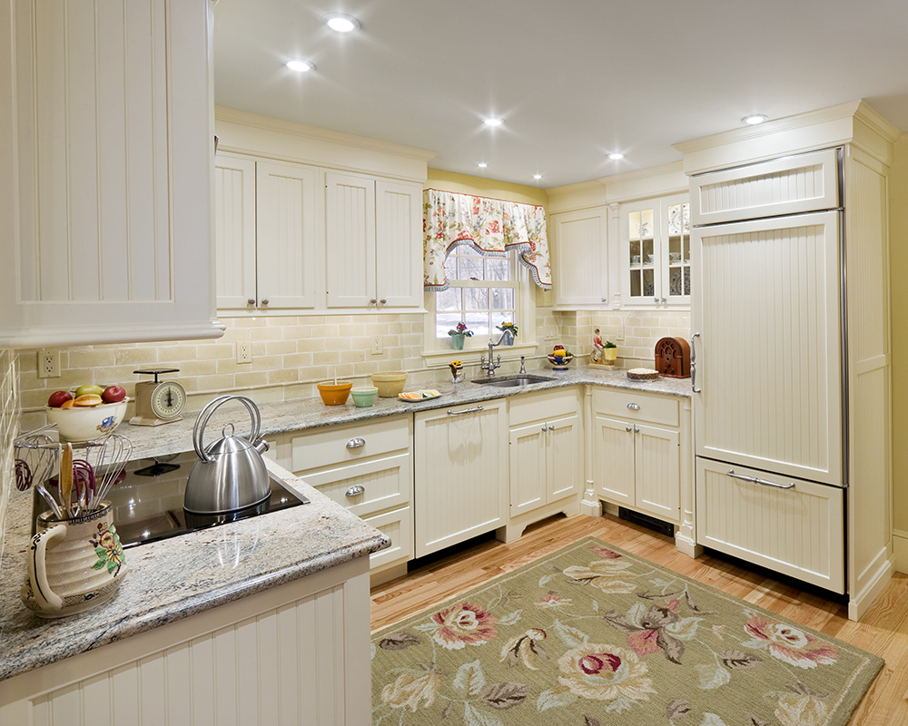 1925 Kitchen With Modern Amenities Boston Design And Interiors Inc