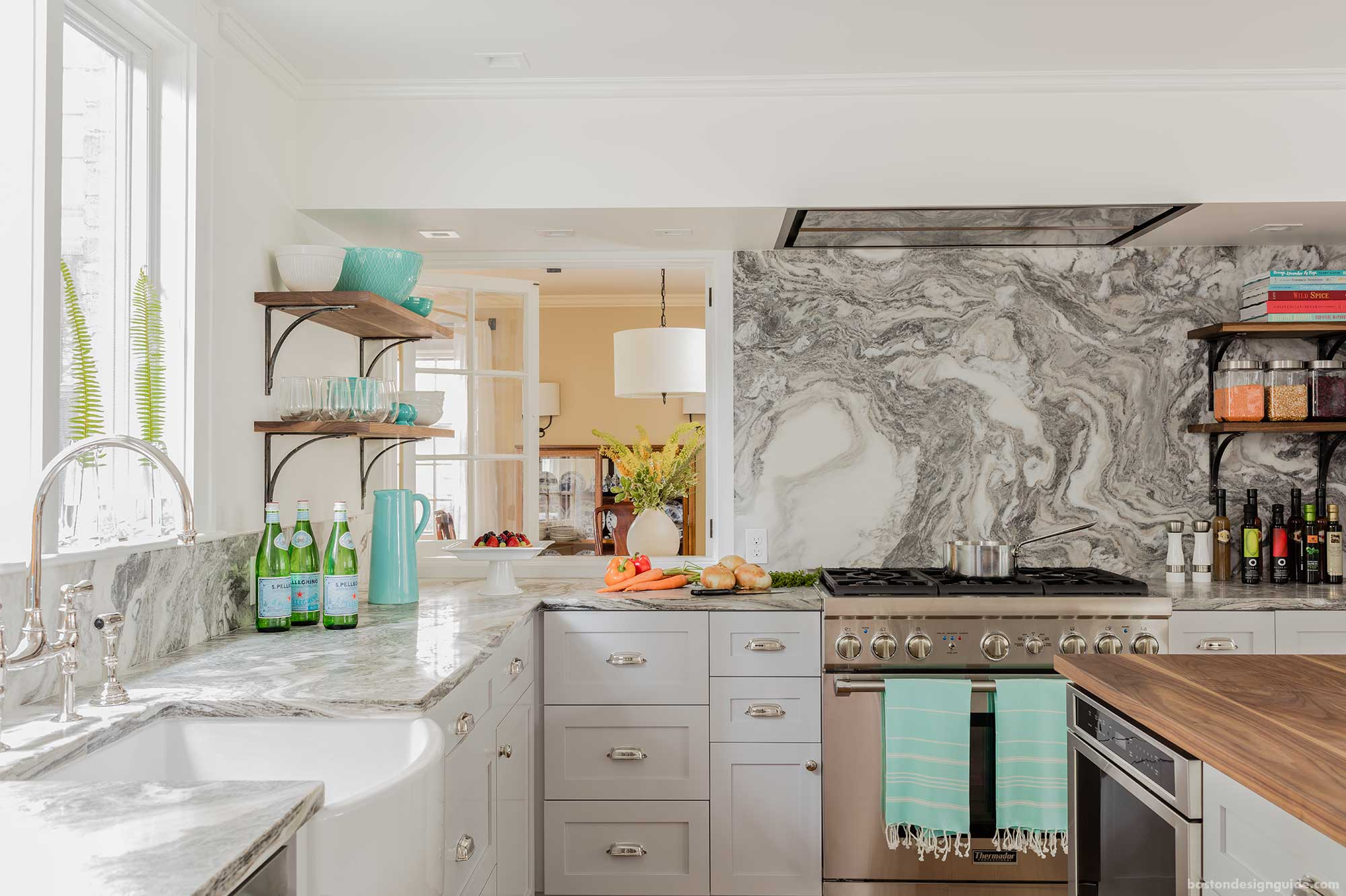 a 100-year-old boston home kitchen remodel | boston design guide