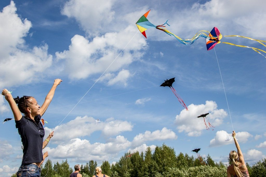 Happy Kite Flyer