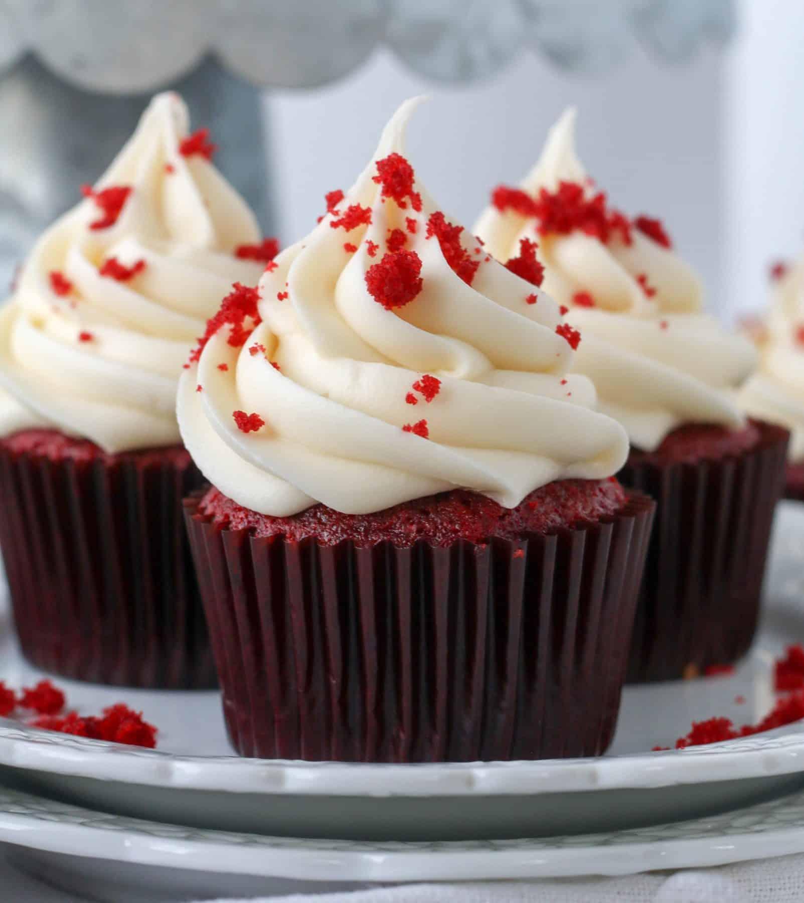 Easy Red Velvet Cupcake Recipe