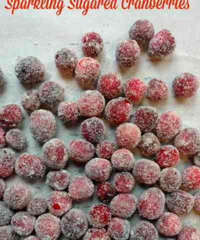How To Make Sugared Cranberries