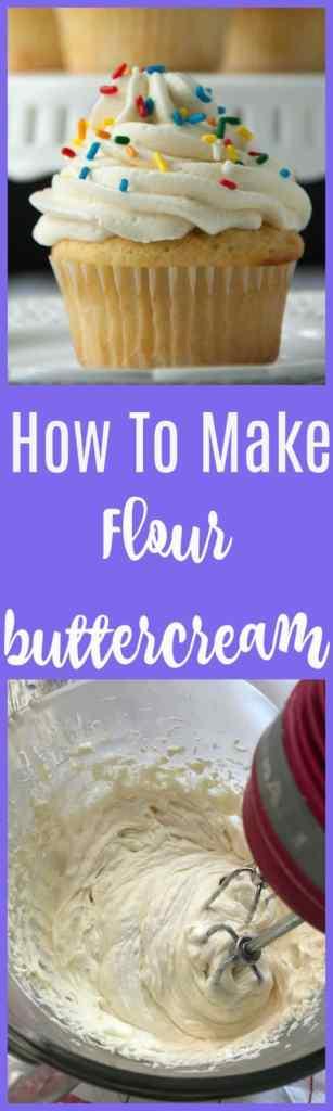flour buttercream