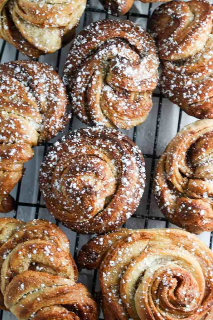brown sugar brioche cinnamon rolls