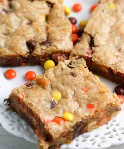 Reese's Peanut Butter Blondie Recipe