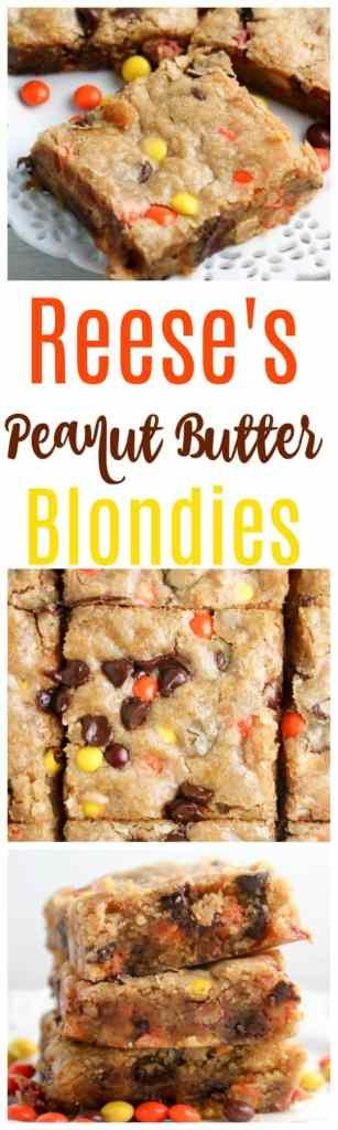 peanut butter blondie recipe