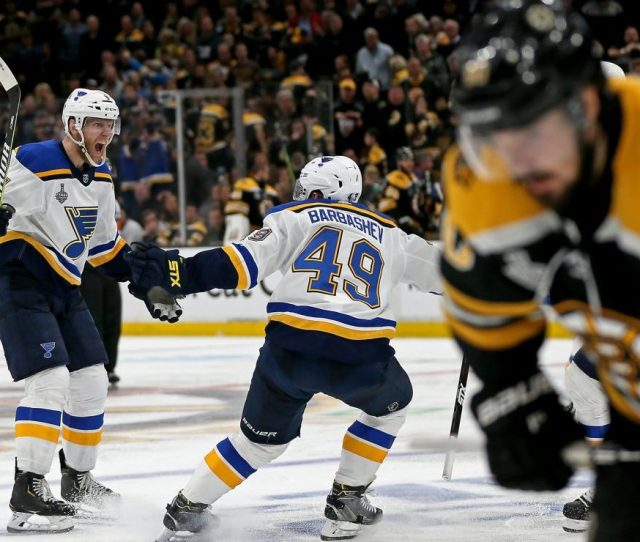 Bruins Loss Extra Painful As Blues Take Game 2 Of Stanley Cup Final In Ot