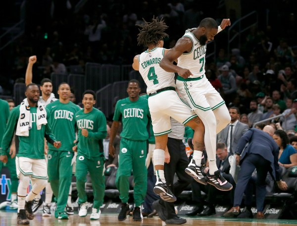 Celtics notebook: Jaylen Brown agrees to contract extension